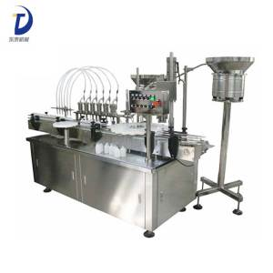 Liner Type Coconut Oil Filling Capping Machine