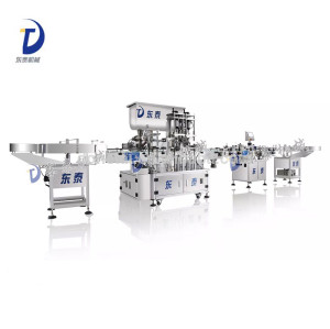 Automatic Hot Sauce Filling Machine, Paste Filling Machine