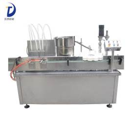 High quality Automatic 4 heads Cigarette Oil filling Capping Machine