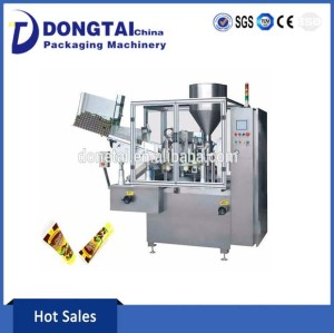 Cream Plastic Tube Filling and Sealing Machine with Automatic Loading Tube
