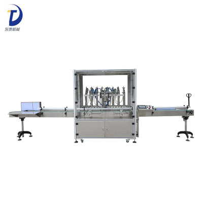 Manufacturer Price Automatic Pastic Bottle Lube Oil Filling Machine
