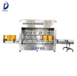 High Speed Automatic Plastic Bottle Olive Oil Filler