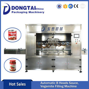 8 Heads Automatic hazelnut jam/ Mayonnaise/Sauce Filling Machine
