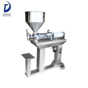 Semi automatic manual  sauce  filling machine