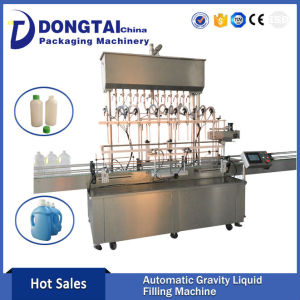 Automatic  Time Gravity Liquid Fertilizer Filling liquid Machine