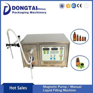 Hot Sale Single head semi automatic Magnetic Pump Liquid Filling Machine