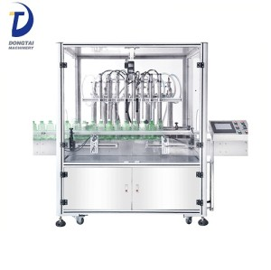 High accuracy easy operate Automatic Plunger Type Olive Oil Filling Machine