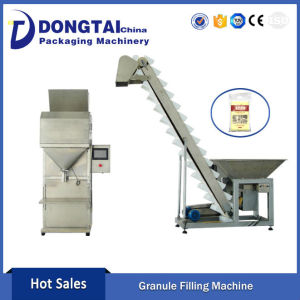 Semi Automatic Granule/Rice/Coffee Weighing Filling Machine Granule Filling Machine For Seed Peanut