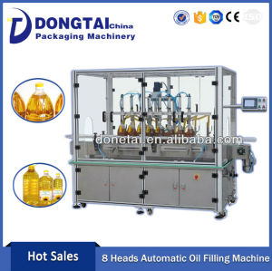 Automatic Vegetable Edible Oil Filling Machine