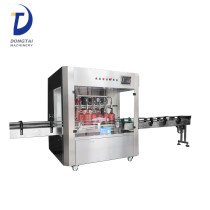 Automatic stainless steel edible olive lube oil bottle barrel filling machine