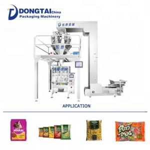 Automatic bag making weighing granule packing machine