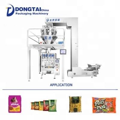 Automatic bag making weighing granule packing machine