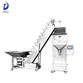 Semi Automatic Rice / Nuts / Grain / Seed / Beans 25kg bag filling machine