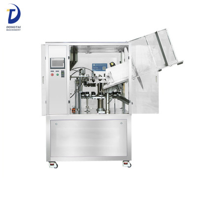 Automatic hose filling and sealing machine