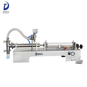 Semi-automatic single head liquid filling machine
