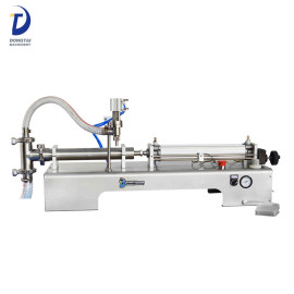 Semi-automatic single head liquid filling machine