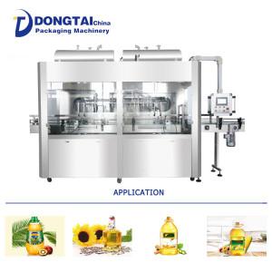Automatic 5-20L oil flowmeter type filling machine