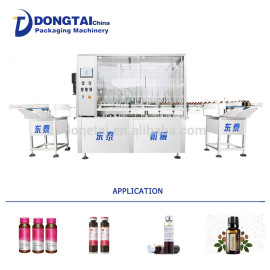 Full Automatic Capsule Filling Oil Machine/bottle liquid filling and sealing machine