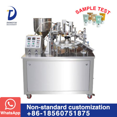 DTG-250A Tube filling and sealing machine