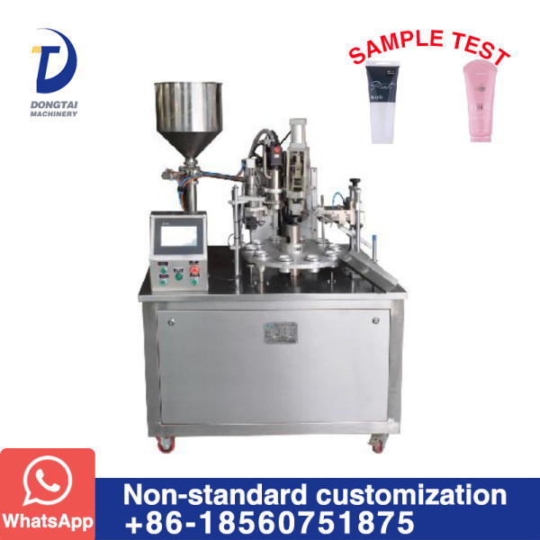 DTG-350A  Semi-Automatic tube filling and sealing machine