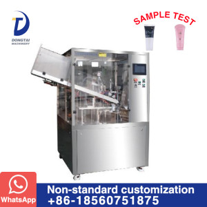DTG-350B  Automatic tube filling and sealing machine