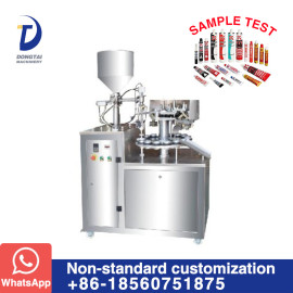 DTG-40 semi auto aluminum tube filling and sealing machine
