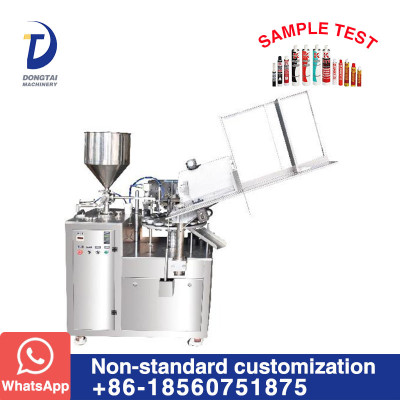 DTG-60 Metal tube filling and sealing machine