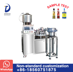 DTG-SG Automatic Super Glue Filling Capping Machine