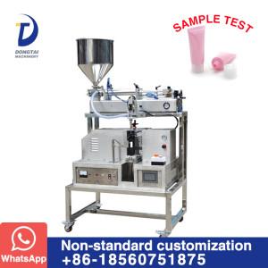 DTG- SU-1 Semi-automatic ultrasonic tube filling and sealing machine