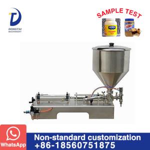 DG Horizontal single head paste filling machine