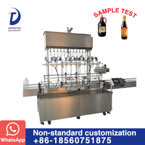 GFM-12 Automatic Linear Type liquid filling machine
