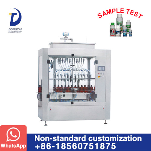 DT-16H Inline Time Control Timing Liquid Filling Machine