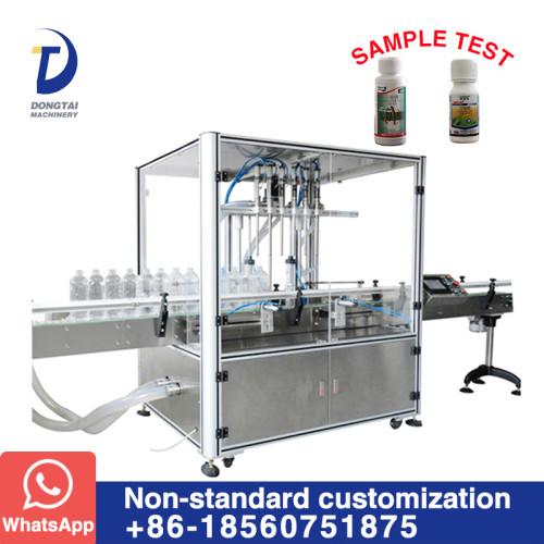 DT-6 Automatic flowmeter type liquid filling machine