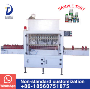 DT-16 Automatic anti-corrosion liquid filling machine
