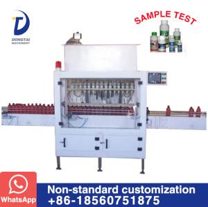 DT-16 Automatic anti-corrosion liquid filling machine