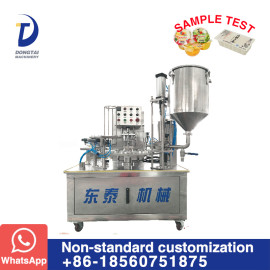 MTFM-DTKS-900 Automatic Cup Filling and Sealing Machine