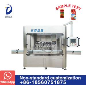 PTFM-6 Automatic sauce filling machine
