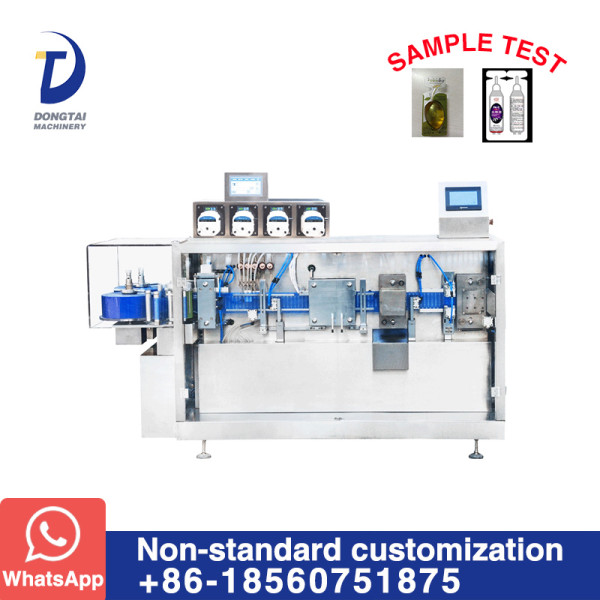 DTFS-4 Plastic bottle forming filling and sealing machine