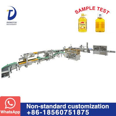 Edible oil sunflower oil cooking oil filling and packaging equipment production line