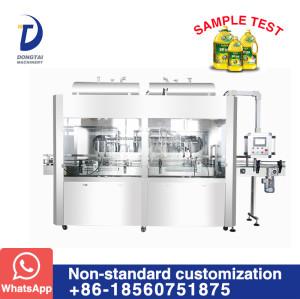 Automatic oil flowmeter type filling machine