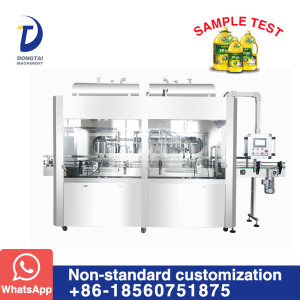 Automatic oil flowmeter type filling machine
