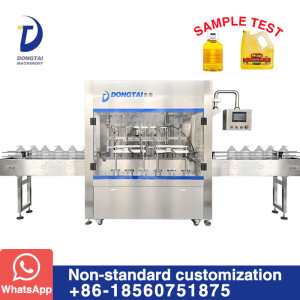 CZDG-6 Weighing type oil filling machine