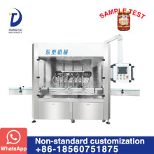 Objective and technology for the development of pepper sauce filling machine to hold up a day