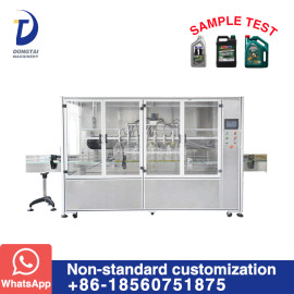 SYFM Automatic Lubricating Oil Filling Machine