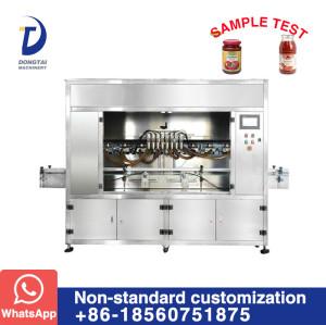 PTFM Automatic 8 head Sauce Filling Machine