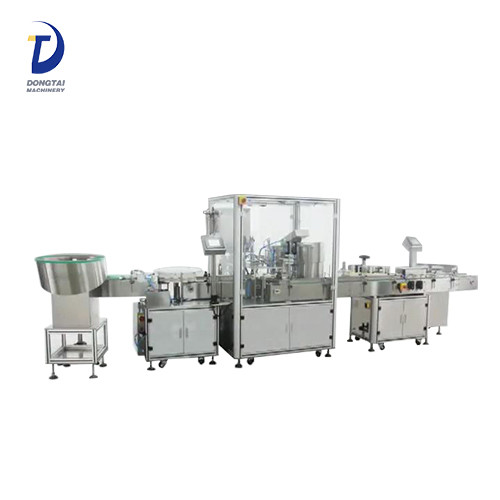 automated bottling equipment,automated bottling,syrup filling machine
