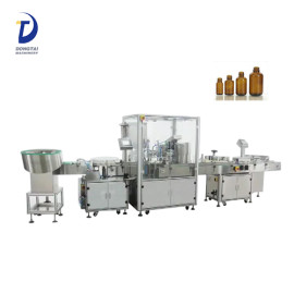 Automatic eye drop bottle unscrambler,vial bottle filling machine,pocket perfume filling capping machine