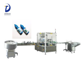 small Bottle Filling Capping And Labeling Machine , Bottle Filling Capping Machine