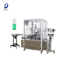 Automatic vial filling machine,glass bottle eye drop 10 ml filler and capper