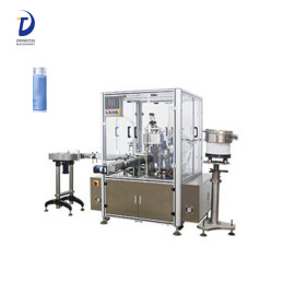 Automatic eliquid/ eye drop/ dropper bottle filling capping machine essential oil packing machine